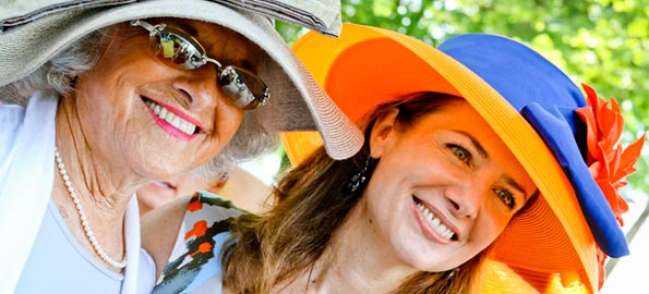 Ladies Day at Devon Horse Show 2012