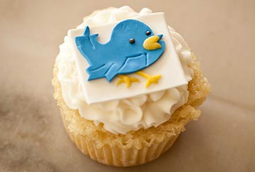 AML partnered with Media's ME Photo and Design and A Sweet Mess Cakes for these cool Twitters cupcakes-in a creative partnership celebrating our 6,000th Twitter follower.  AroundMainLine.com's Twitter account ranks in the top one percent most popular Twitter accounts in the world!
