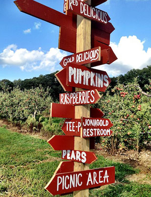 Pick your own season is in full swing at Boyertown's Frecon Farms! Photo courtesy of Frecon Farms
