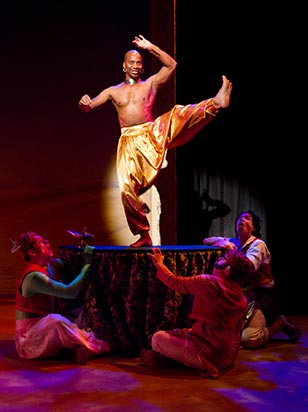 Aladdin is a magical and musical romp that is sure to have you jumping out of your seats and singing in the aisles!
