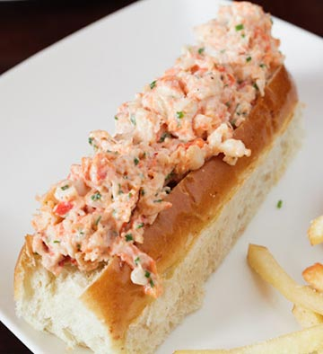 New England Lobster Roll with Truffle Fries One of the most decadent, and delicious selections, at Pacific Prime's popular Sunday brunch!