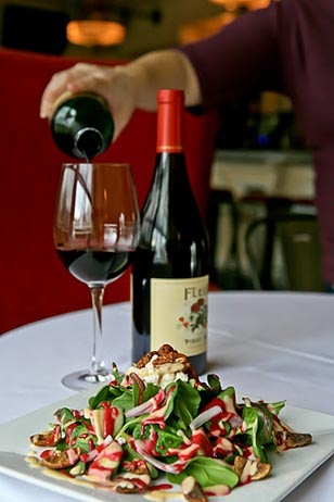 Wine and dine our treat at Chester County's very charming and popular restaurant…The Gables at Chadds Ford! The Gables returns to Spring Main Line Restaurant Week this season with discounted, prix fixe lunch and dinner menus.