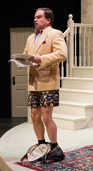 """Noises Off is a love letter from a brilliant writer to the theatre, an amazingly well-structured piece of writing, and arguably one of the funniest farces ever written,"" said director Pete Pryor."
