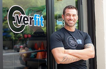 """""""I am available to my clients 24x7 via phone, text, email in order to help them 'stay on track'. Having a support system is a big part of my client's success."""" Eric McGee, Everfit"""