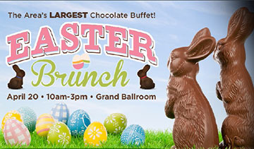 Two lucky local families will be treated to a complimentary Easter Brunch at Valley Forge Casino Resort!