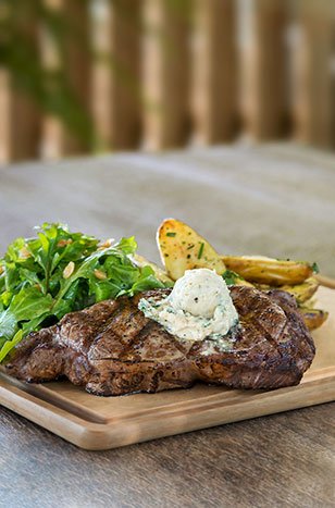 CPK's new Fire Grilled Ribeye is to DIE for!