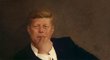 Brandywine River Museum of Art Presents: Jamie Wyeth, Portrait of John F. Kennedy, 1967