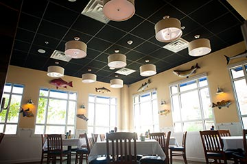 Big Fish will be offering specials on their extensive raw bar menu as well as seafood-centric Valentine's specials. Photo courtesy of ME Photo & Design LLC.