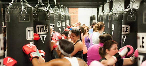 Buzz: Daddy-Daughter Night at Title Boxing Club