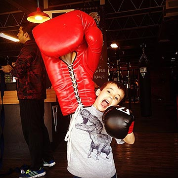 Need to keep the kiddos busy this summer? How about boxing camp?