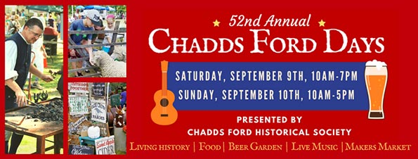Chadds Ford Historical Society's Chadds Ford Days