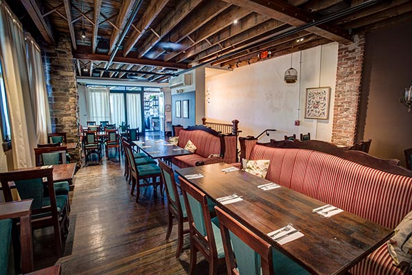 The rustic American restaurant, which opened in March 2016, has singlehandedly revived downtown Lansdale--becoming a community gathering spot.