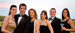 Black Tie and Boots Ball at Bryn Clovis
